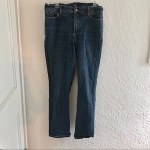 NYDJ Straight Stretch Jeans